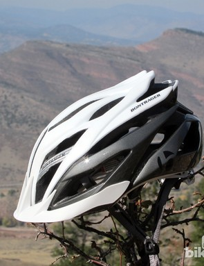 The Bontrager Specter XR differs from the standard version only by the addition of a small visor, to cater to the mountain bike crowd