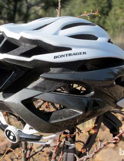 Bontrager equips the rear of the Specter XR with plenty of exhaust ports that give incoming air somewhere to go
