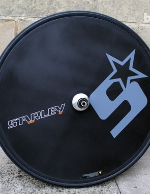 Starley Bikes disc wheel