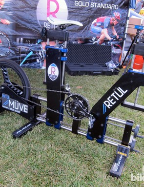 Retül's new Müve dynamic fit bike allows for easier and more accurate fit sessions, according to company chief fit and education officer Todd Carver