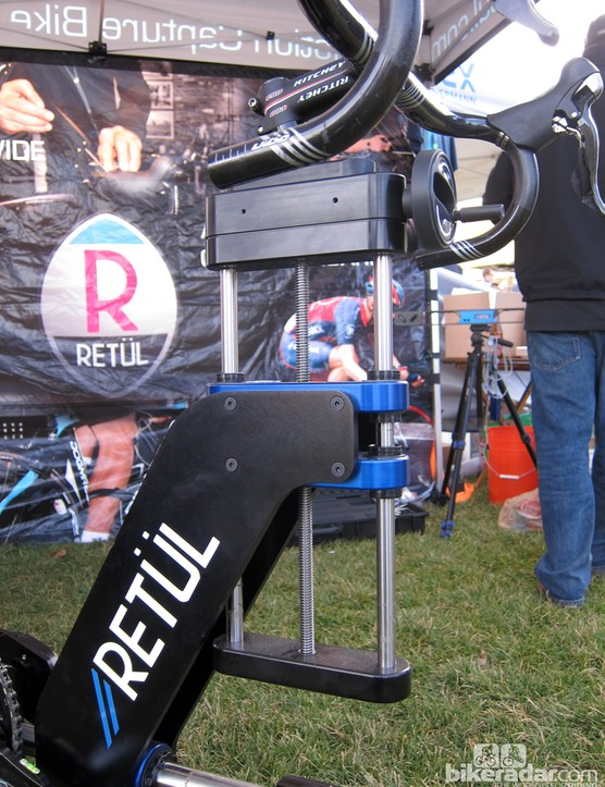 The burly Retül Müve frame is manufactured in Boulder, Colorado