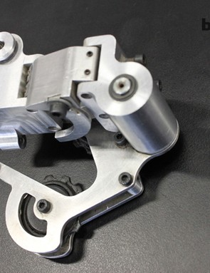 First prototype of the XX1 rear derailleur