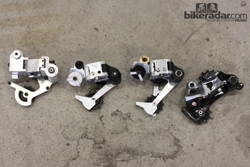 The evolution of the SRAM XX1 rear derailleur