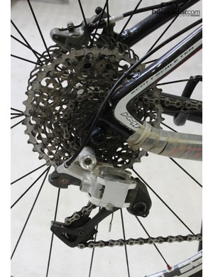 A working prototype of the XX1 rear derailleur