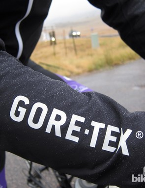 Tried-and-true Gore-Tex fabric performs well in the AS road jacket