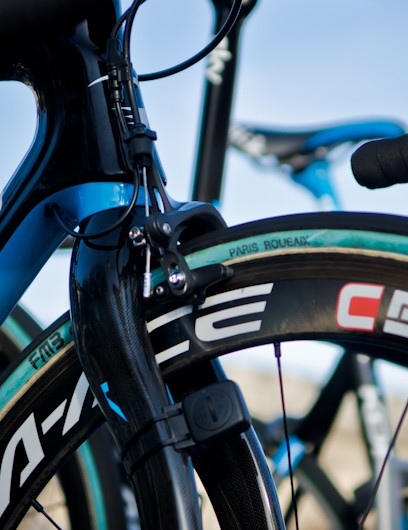 Team Sky relied on FMB tires for the cobbled classics