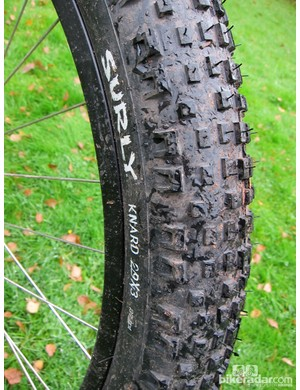 The tyres on our test sample weighed 1.15kg (2.54lb)