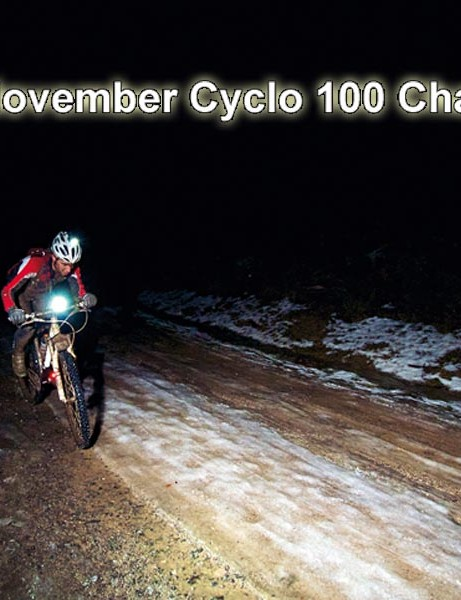 The November Cyclo 100 Challenge – enough incentive to brave the dark and cold?