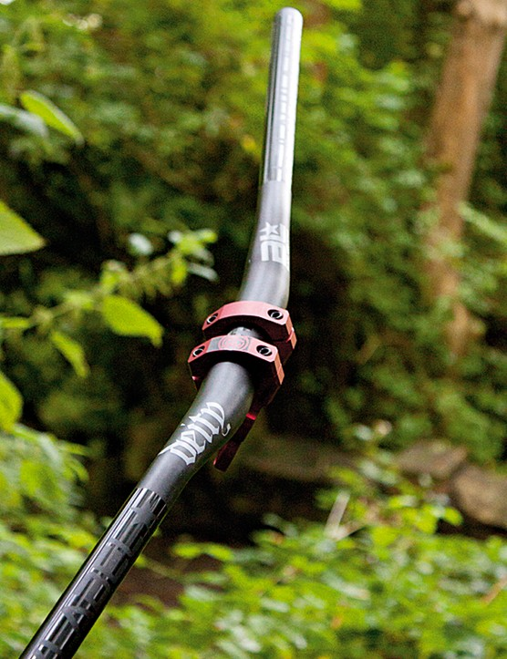 Deity Components Blacklabel DH handlebar
