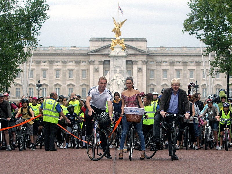 More Brits on bikes please