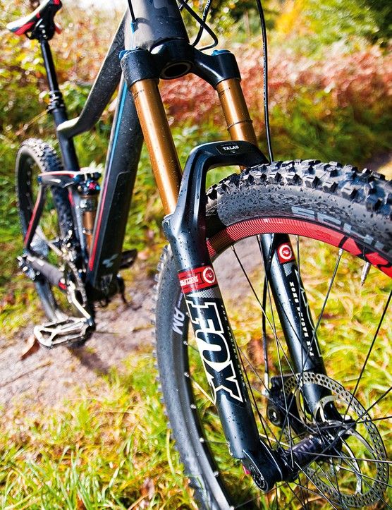The Stereo has 160mm front travel courtesy of the plush Fox 34 TALAS fork