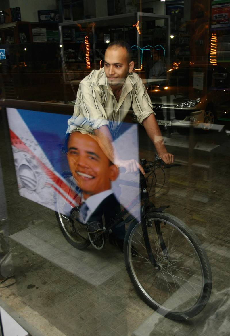 President Obama may not have any direct impact on cycling, but his support should reflect well