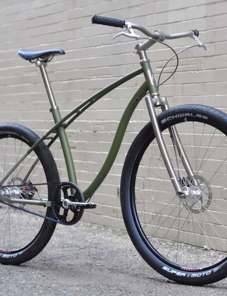 Budnitz Bicycles' No. 2 Titanium Paratrooper