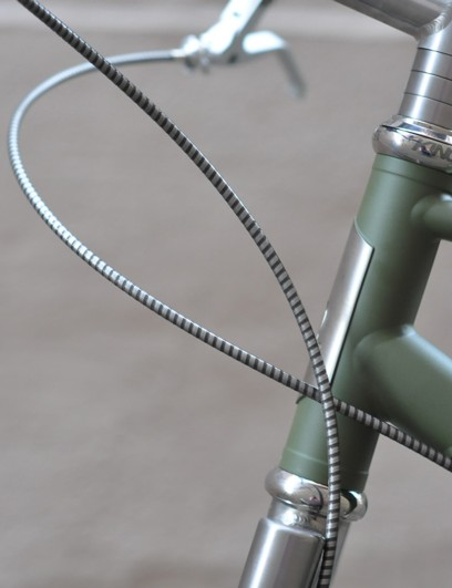 A special titanium Chris King headset fitted to the No. 2