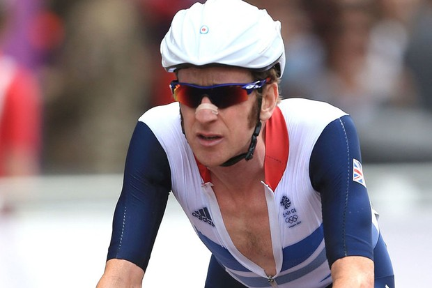 Brad Wiggins is on the mend after spending the night in hospital following a crash on Wednesday