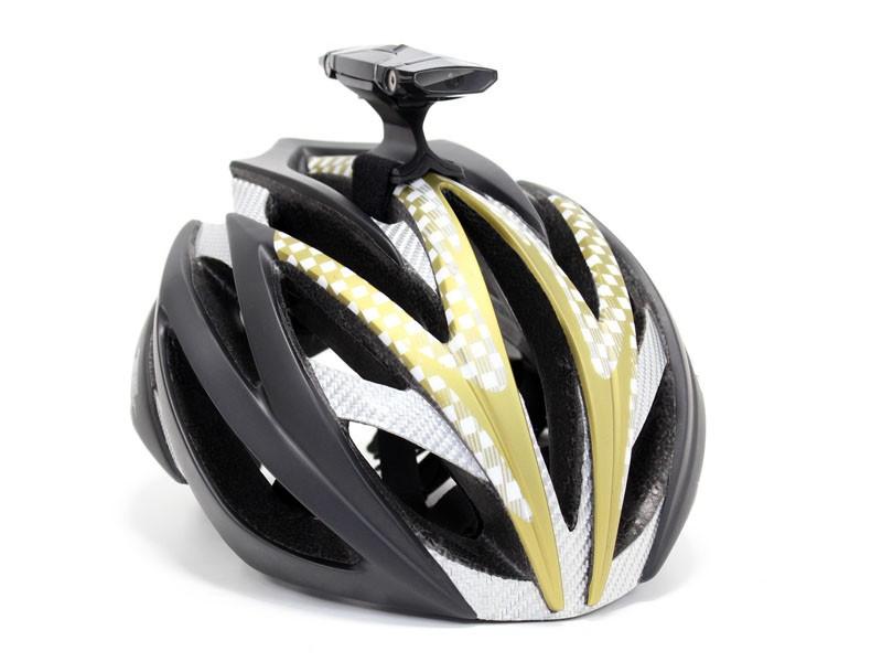 The Spectacam is a two-way helmet cam