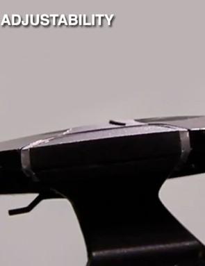 The cameras have independent vertical adjustment
