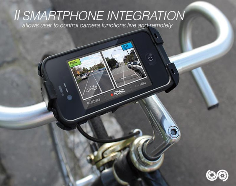 The Spectacam can be remotely operated via a smartphone app