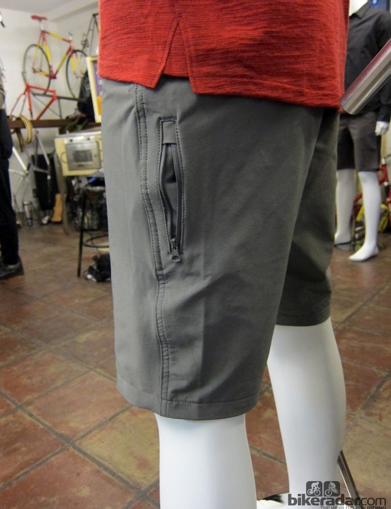 The trim-cut outer shorts include a number of bike-friendly pockets