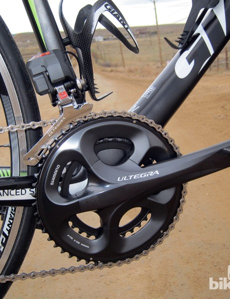 Compact gearing comes standard on the Liv/giant Avail Advanced SL 0 and 1