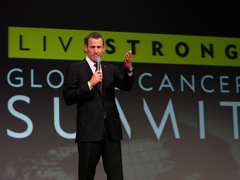 Lance Armstrong is no longer on the board of Livestrong