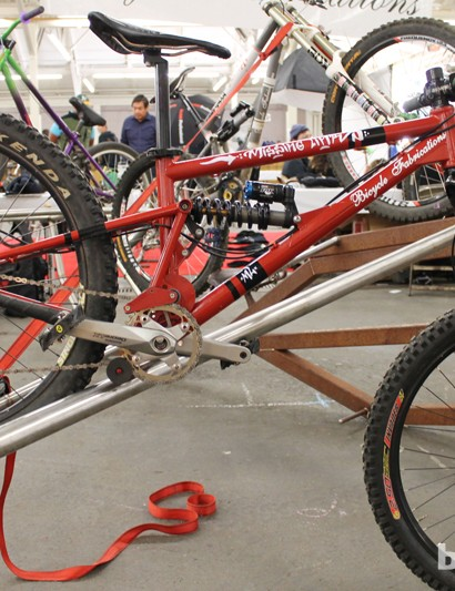 2D suspension design by Bicycle Fabrications, designed by Jon Heim