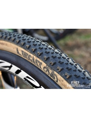 The new Small Bird is Dugast's first cyclocross tubular with a dual-compound tread