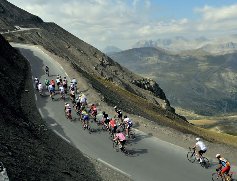 La Haute Route, a stage race open to amateurs in France, is among the toughest in the world