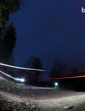 Try your hand at night riding photography to be in with a chance of winning a BikeRadar Training spot prize