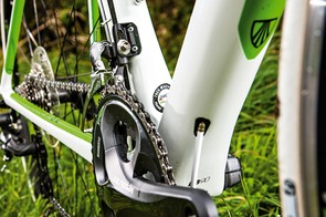 Shimano's 50/34 Ultegra chainset should suit most riders