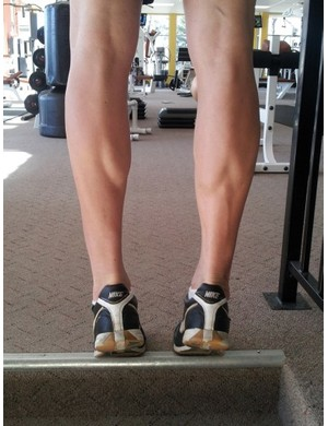 Calf raises are an effective exercise that can be done anywhere