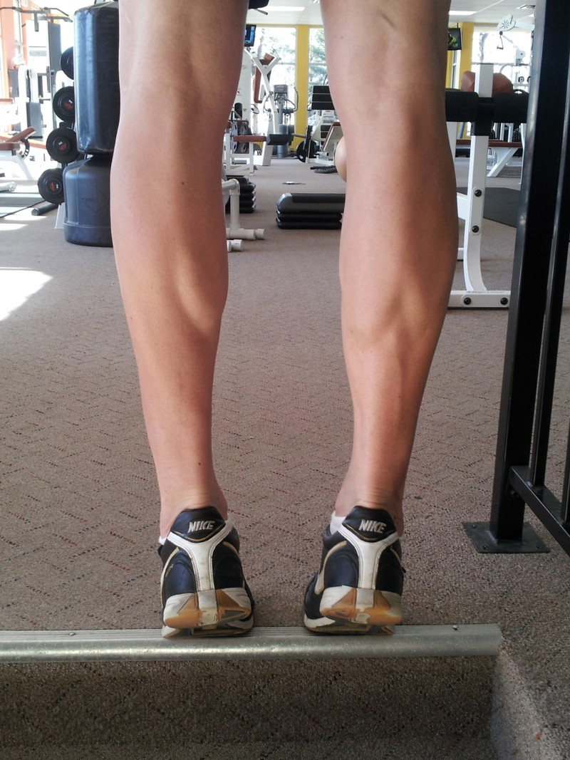 Calf raises are a simple exercise that can be done virtually anywhere