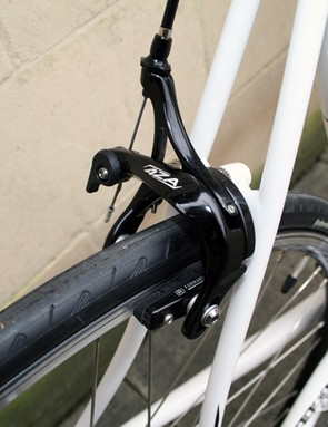 The Belief comes with brakes from 4ZA, the in-house brand of Ridley