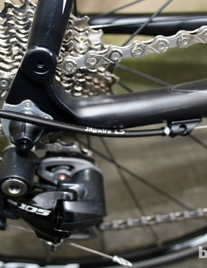 The 12-28T cassette on the Verenti Insight 105