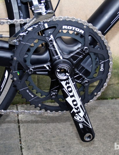 A Rotor 3D Compact crankset, for something a little different on the Revelation