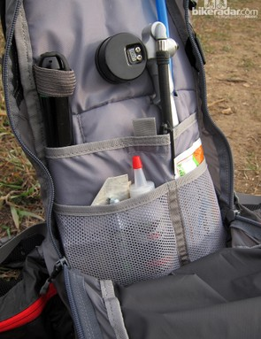 Lots of internal pockets keep smaller bits well organized and easy to find