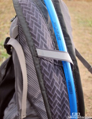 The simple straps are virtually unpadded but that's okay since most of the weight is carried on your hips. On the plus side, the straps are very well ventilated