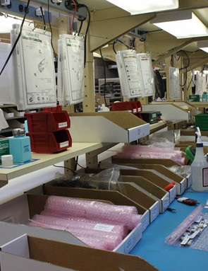One of the company's four assembly lines