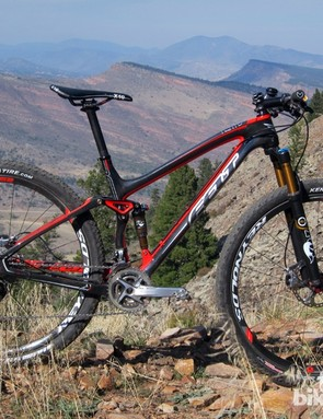The Felt Edict Nine LTD is a striking 100mm travel cross-country machine that drew nearly universal praise for its low-slung good looks