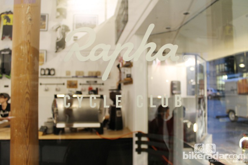 The Rapha Cycle Club is Rapha's store. The San Francisco shop is in the Marina District