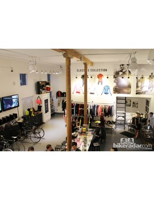 Rapha Cycle Club in San Francisco—the first permanent Cycle Club for Raph