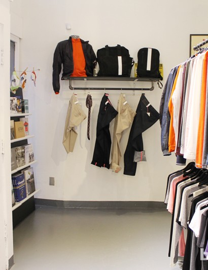 Rapha Cycle Club sells books, DVDs, performance road wear, city riding items, skin care and more