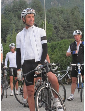 Event organiser Phil Deeker doesn't shy away from taking part
