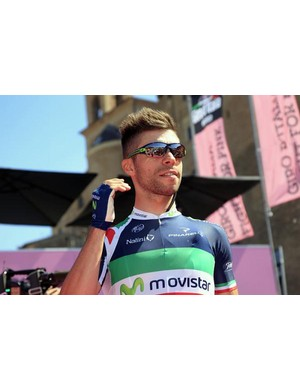 Italian champion Giovanni Visconti (Movistar)