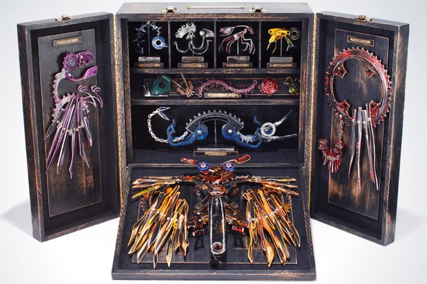 """""""SRAM Field Collection"""" by Jeff Van de Walker is priced at $25,000"""