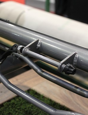 The Skinny can even carry a bike, povided it uses a 9mm quick-release, or the user supplies a fork adapter