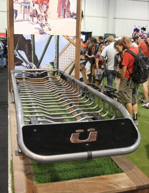 The Skinny is half the width of a traditional cargo basket, allowing the user to carry some gear, along with other rooftop accessories such as bikes or a kayak