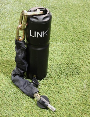 The Link is a burlier version of the Bottle Lock, designed for use in higher-risk areas