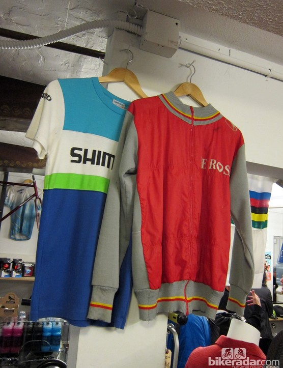 These vintage jerseys and jackets aren't for sale
