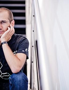 Scott engineer Benoit Grelier